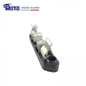 Y type meter socket jaw reinforcing clip