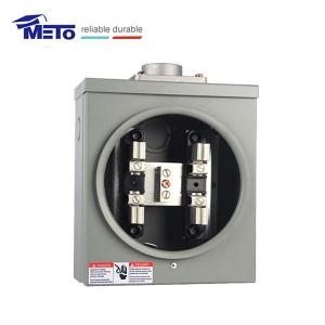 1ph 4 jaws meter socket meto meter bases quare meters