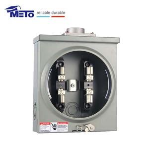 1ph 4jaw sq electric meter box