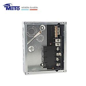 MTL412F New 125a 120/240v 4 way plug-in flush type distribution board economy load center
