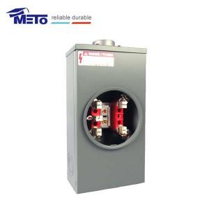 MT-200-5J-R ANSI standard China 200 amp 5 jaw gang meter base meter socket